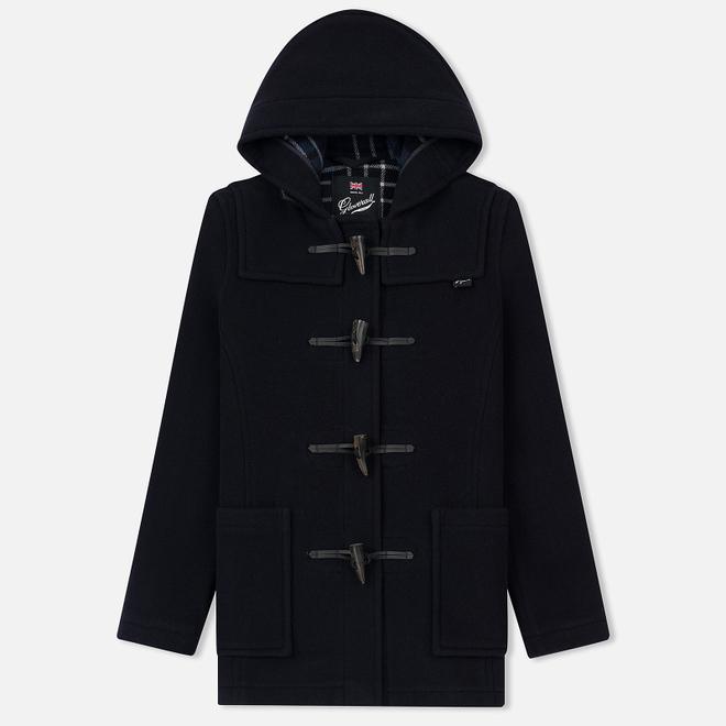Женское пальто Gloverall Short Slim Fit Duffle Navy