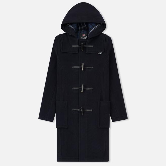 Женское пальто Gloverall Slim Fit Duffle Navy