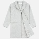 Женское пальто Norse Projects Agnes Light Felt Light Grey Melange фото- 1