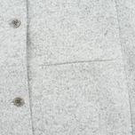 Norse Projects Agnes Light Felt Light Women's Coat Grey Melange photo- 4