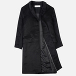 Norse Projects Aud Hairy Mix Women's Coat Black photo- 1