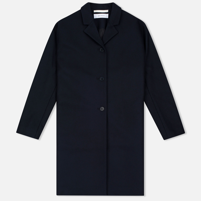 Женское пальто Norse Projects Gera Wool Dark Navy