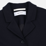 Женское пальто Norse Projects Gera Wool Dark Navy фото- 2