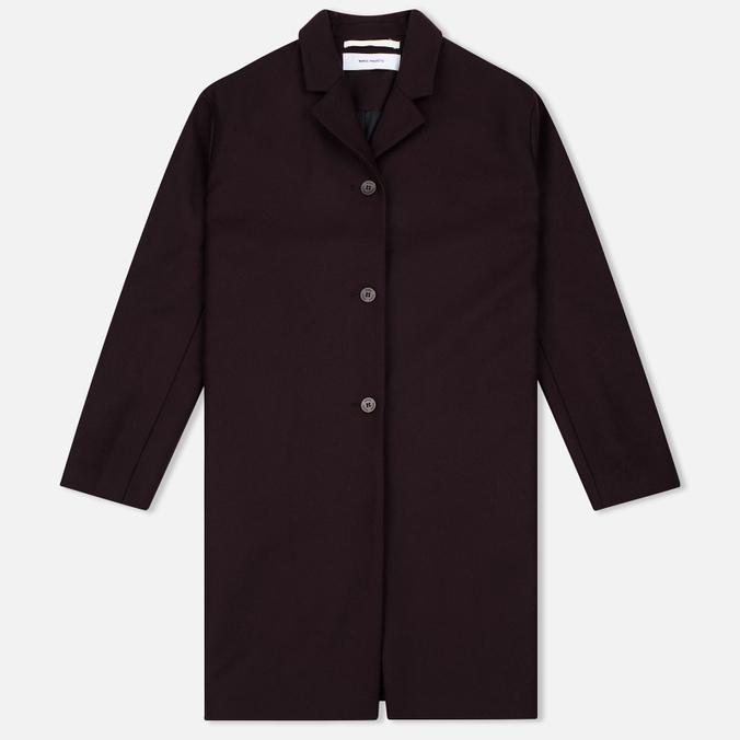 Женское пальто Norse Projects Gera Wool Plum