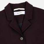 Женское пальто Norse Projects Gera Wool Plum фото- 2