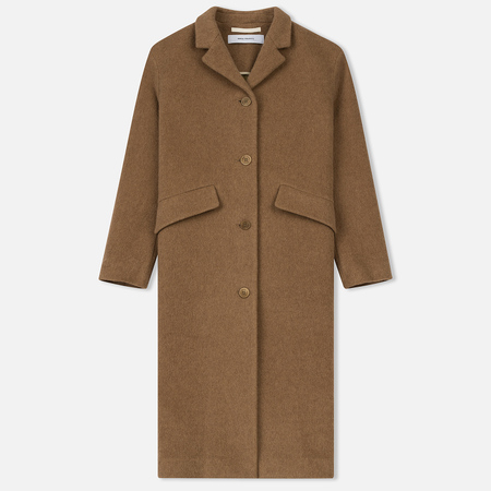 Женское пальто Norse Projects Sassa Hairy Wool Camel