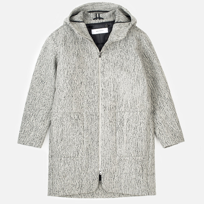 Женское пальто Norse Projects Signe Felt Light Grey Melange