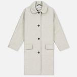 Женское пальто YMC Neoprene Wool Off White фото- 0