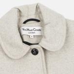 Женское пальто YMC Neoprene Wool Off White фото- 2