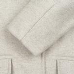 Женское пальто YMC Neoprene Wool Off White фото- 3