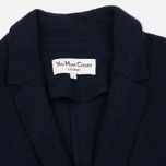Женское пальто YMC Raw Edge Wool Navy фото- 2