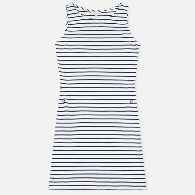 Женское платье Barbour Dalmore White/Navy