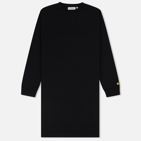 Женское платье Carhartt WIP W' Chase Sweat Black/Black