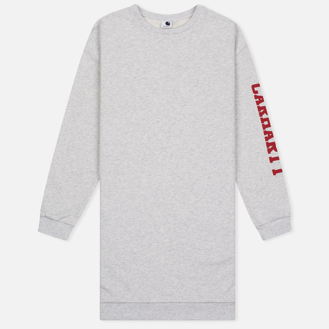 Женское платье Carhartt WIP W' College Left Sweat Ash Heather/Rosehip