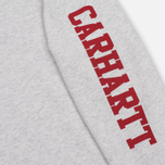 Женское платье Carhartt WIP W' College Left Sweat Ash Heather/Rosehip фото- 3