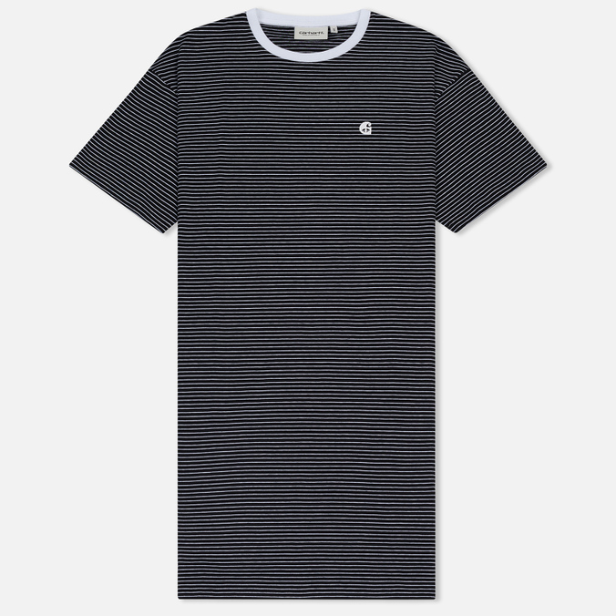 Женское платье Carhartt WIP W' Darcy Stripe Black/White
