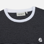 Женское платье Carhartt WIP W' Darcy Stripe Black/White фото- 1