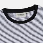 Женское платье Carhartt WIP W' Darcy Stripe White/Black фото- 1