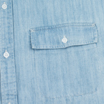 Carhartt WIP W' SS Corry Denim 6.5. Oz Dress Blue Super Bleached photo- 5