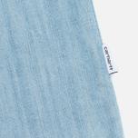 Carhartt WIP W' SS Corry Denim 6.5. Oz Dress Blue Super Bleached photo- 2