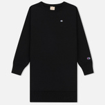 Женское платье Champion Reverse Weave Logo Embroidered Jersey Black фото- 0