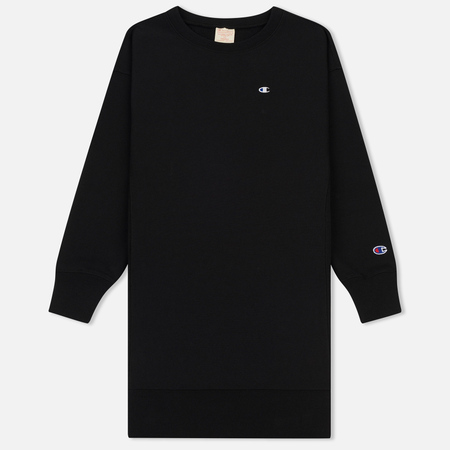 Женское платье Champion Reverse Weave Logo Embroidered Jersey Black
