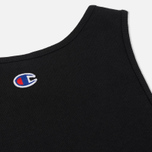 Женское платье Champion Reverse Weave Sleeveless Black фото- 3