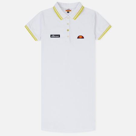 Женское платье Ellesse Cavulio Polo Optic White