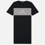 Женское платье Fred Perry Embroidered 90s Branding Black фото- 0