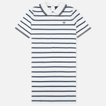 Женское платье Fred Perry Flat Knit Stripe Snow White фото- 0