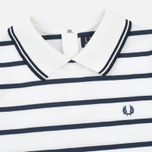Женское платье Fred Perry Flat Knit Stripe Snow White фото- 1