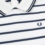 Женское платье Fred Perry Flat Knit Stripe Snow White фото- 2