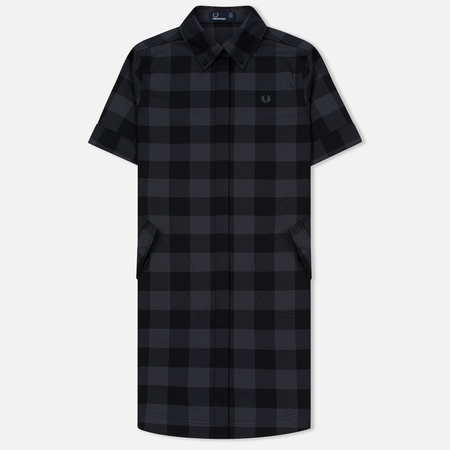 Женское платье Fred Perry Gingham Parka-Detail Black