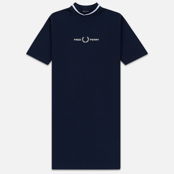 Женское платье Fred Perry High Neck Deep Carbon
