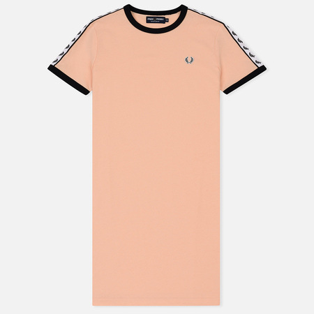Женское платье Fred Perry Laurel Sports Authentic Taped Ringer Iced Coral