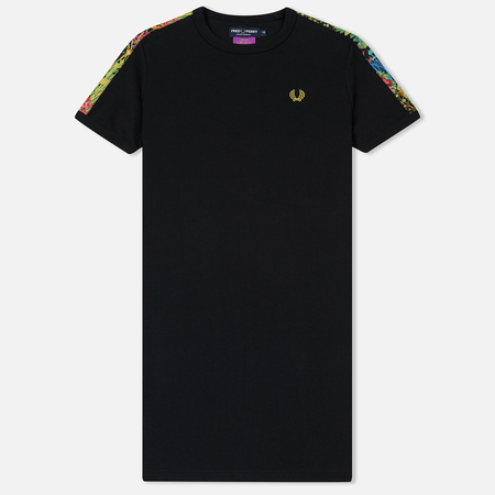 Женское платье Fred Perry Liberty Print Ringer Black