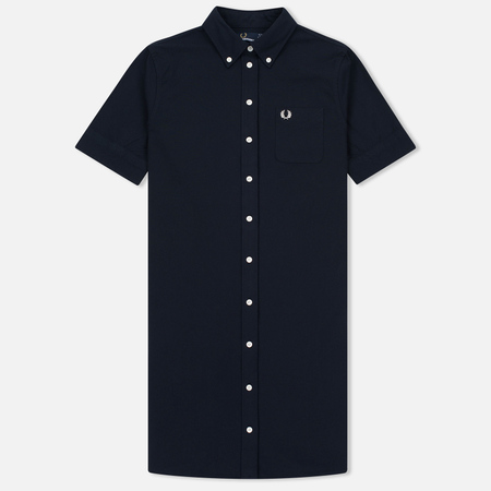 Женское платье Fred Perry Oxford Shirt Navy