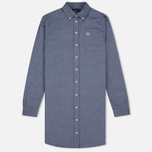 Женское платье Fred Perry Oxford Shirtdress Carbon Blue фото- 0