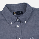 Женское платье Fred Perry Oxford Shirtdress Carbon Blue фото- 1