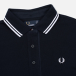 Женское платье Fred Perry Oxford Trim Pique Navy фото- 1