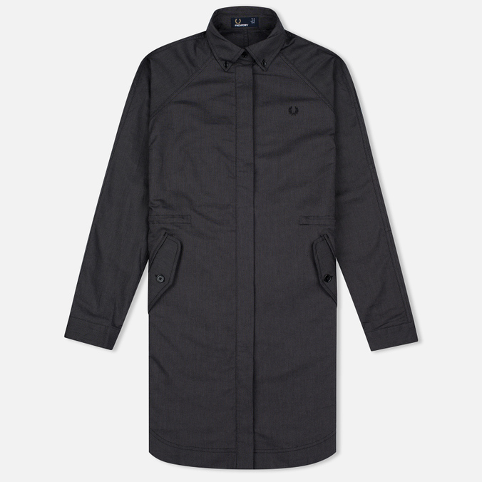 Fred Perry Parka Shirtdress Women's Dress Graphite