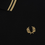 Женское платье Fred Perry Reissues Pleated Pique Tennis Black/Champagne/Champagne фото- 3