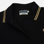 Женское платье Fred Perry Reissues Pleated Pique Tennis Black/Champagne/Champagne фото- 2