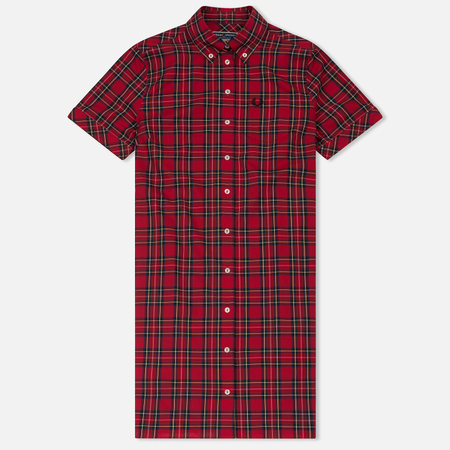 Женское платье Fred Perry Reissues Tartan Shirt Red