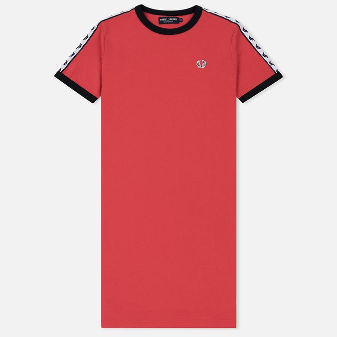Женское платье Fred Perry Sports Authentic Taped Ringer Chrysanthemum