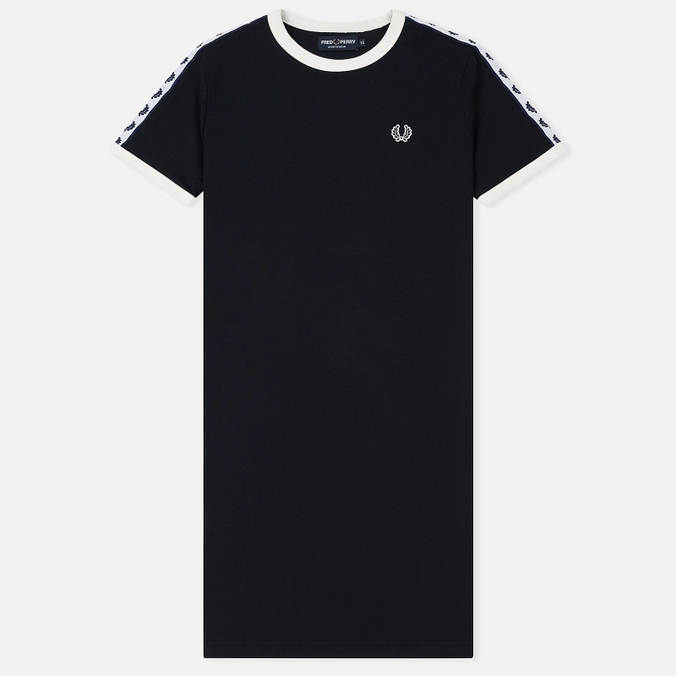 Женское платье Fred Perry Sports Authentic Taped Ringer Navy