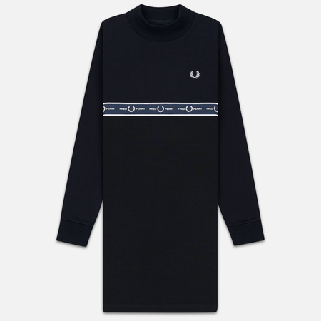 Женское платье Fred Perry Taped Embroidered Logo Black