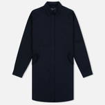 Женское платье Fred Perry Textured Parka Shirt Navy фото- 0