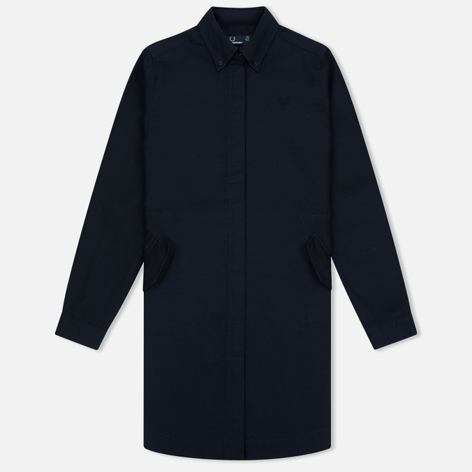Женское платье Fred Perry Textured Parka Shirt Navy