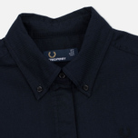 Женское платье Fred Perry Textured Parka Shirt Navy фото- 1